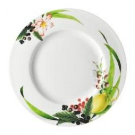 Rosenthal Selection Brillance Les Fruits du Jardin Breakfast plate with rim 23 cm