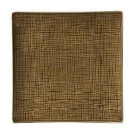 Rosenthal Selection Mesh Walnut Plate deep square 31 cm