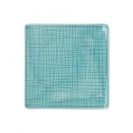 Rosenthal Selection Mesh Aqua Plate flat square 14 cm