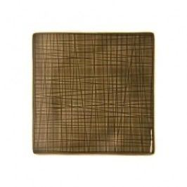 Rosenthal Selection Mesh Walnut Plate flat square 14 cm