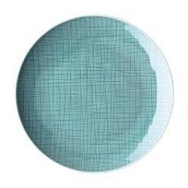 Rosenthal Selection Mesh Aqua Plate flat 33 cm