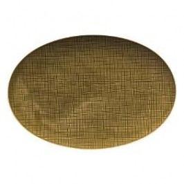 Rosenthal Selection Mesh Walnut Platter 34 cm