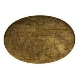 Rosenthal Selection Mesh Walnut Platter 38 cm