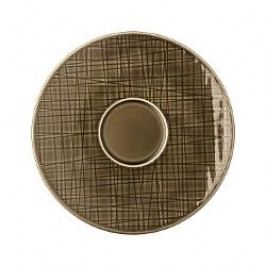 Rosenthal Selection Mesh Walnut Coffee / tea cup saucer 16 cm