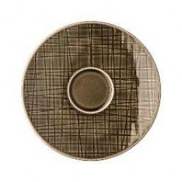 Rosenthal Selection Mesh Walnut Espresso cup saucer 12 cm