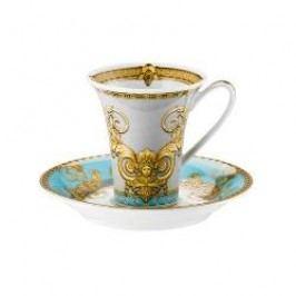 Rosenthal Versace Prestige Gala Le Bleu Espresso / mocha cup 0.09 l 2 pcs