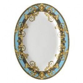 Rosenthal Versace Prestige Gala Le Bleu Platter 34 x 24.5 cm