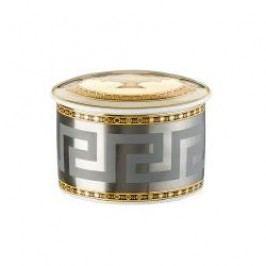 Rosenthal Versace Prestige Gala Can / canister / tin d: 8 cm / h: 7 cm