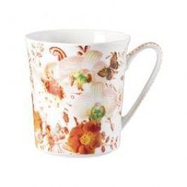 Rosenthal Selection Belles Fleurs Mug Orange with handle 0.40 l