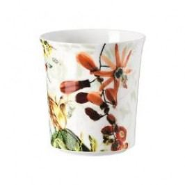 Rosenthal Selection Belles Fleurs Tea light holder with a scented candle Olive / Autumntime