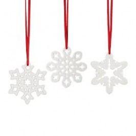 Hutschenreuther Winterromantik - Baumschmuck Pendant 3 Snow Crystals