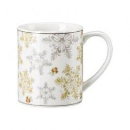 Hutschenreuther Winterromantik Mug with Handle - Snow Crystals 0.25 l