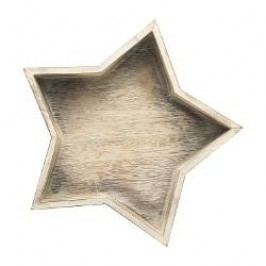 Hutschenreuther Winterromantik Star-Shaped Bowl small Material: wood, 29.5 cm