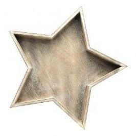 Hutschenreuther Winterromantik Star-Shaped Bowl big Material: wood, 40 cm