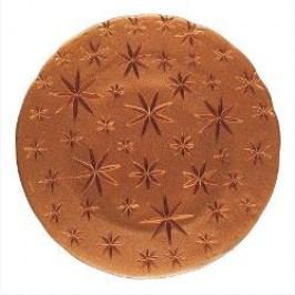 Nachtmann Gläser Christmas Stars - Crystal Glass Charger Plate / Underplate Set 2 pcs Material: copper glass, 32 cm