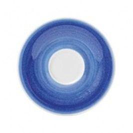 Kahla Pronto Wir machen Blau - Kaethe W. Espresso cup saucer 12 cm