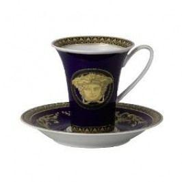 Rosenthal Versace Medusa blue Coffee Cup 2 pcs 0.18 L