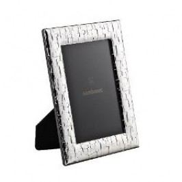 Sambonet Silberrahmen Picture frame 'Skin', silver-coated 10x15 cm