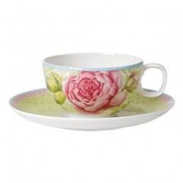 Villeroy & Boch Rose Cottage Tea cup with saucer, color: green 2 pcs