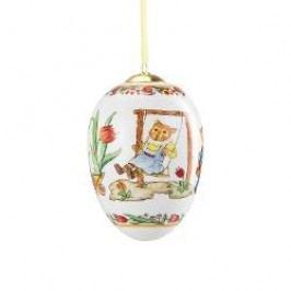 Hutschenreuther Midi-Ei Egg midi porcelain 'Hamster' gift-wrapped 10 cm