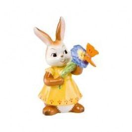 Goebel Frühlingserwachen - Der Hase und seine Freunde Figurine 'Fly, my little friend' height: 11,5 cm