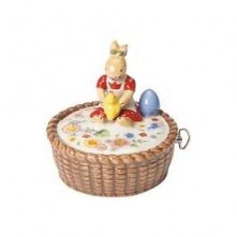 Villeroy & Boch Spring Decoration Decorative figurine and music box with a children's song 'Alle Voegel sind schon da' 10x10x10 cm