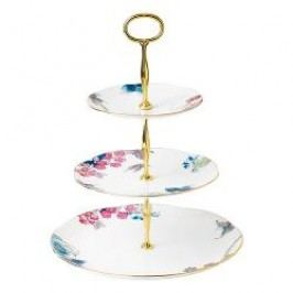 Wedgwood Butterfly Bloom Cake Stand in Gift Box 3 Tier