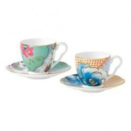 Wedgwood Butterfly Bloom Espresso Cup Set of 2 in Gift Box 4 pcs