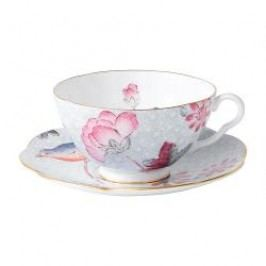 Wedgwood Harlequin Collection Cuckoo Tea Cup Blue 0,18 L