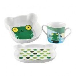 Sambonet Kids Children's Set Froggy, 3 pcs
