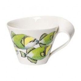 Villeroy & Boch New Wave Caffè Animals of the World - Drückerfisch Café-au-lait Cup, 0,40 l