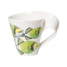 Villeroy & Boch New Wave Caffè Animals of the World - Drückerfisch Mug with Handle, large, in a gift box, 0,35 l