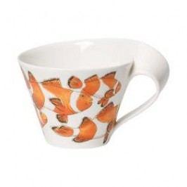Villeroy & Boch New Wave Caffè Animals of the World - Clownfisch Café-au-lait Cup, 0,40 l