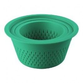 Thomas Kitchen Strainer 3-piece set, material: plastic, color: green 1.5 l / 2.5 l / 4.0 l