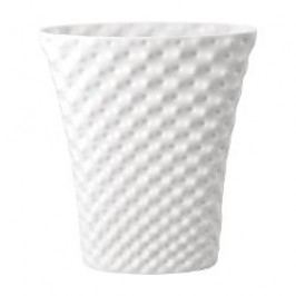 Rosenthal Studio-line Vibrations Vase oval glazed, color: white 32 cm