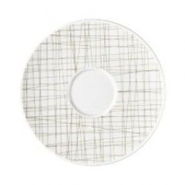 Rosenthal Selection Mesh Line Walnut Coffe/Tea/Universal Saucer, 16 cm