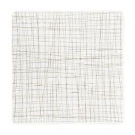 Rosenthal Selection Mesh Line Walnut Plate square, flat, 22 cm