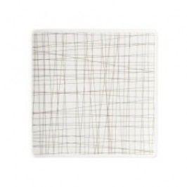 Rosenthal Selection Mesh Line Walnut Plate square, flat, 14 cm