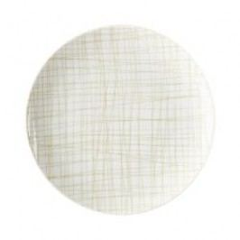 Rosenthal Selection Mesh Line Cream Plate flat, 19 cm
