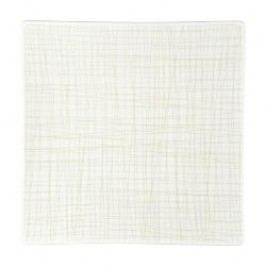 Rosenthal Selection Mesh Line Cream Plate square, flat, 27 cm