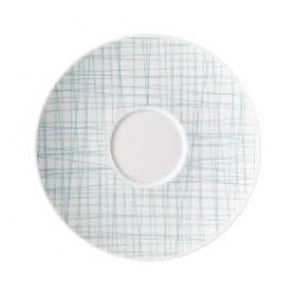 Rosenthal Selection Mesh Line Aqua Soup Bowl Saucer, 18 cm