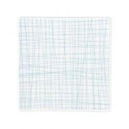Rosenthal Selection Mesh Line Aqua Plate square flat 17 cm