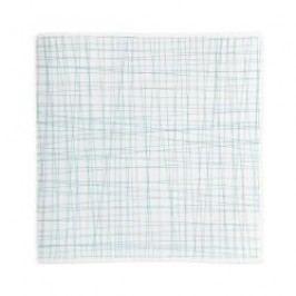 Rosenthal Selection Mesh Line Aqua Plate square flat 22 cm