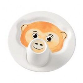 Villeroy & Boch Animal Friends Plate 22 cm with a mug 0.2 Monkey, 2 pcs set