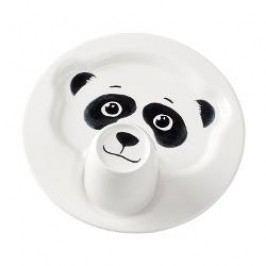 Villeroy & Boch Animal Friends Plate 22 cm with a mug 0.2 Panda, 2 pcs set