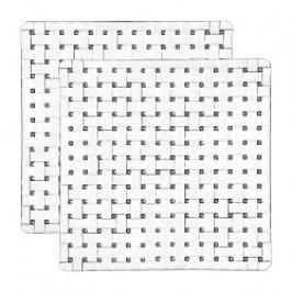 Nachtmann Gläser Bossa Nova Platter square 2-piece set 21 cm