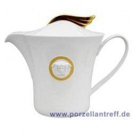 Rosenthal Versace Ikarus Médaillon Méandre d´Or Tea Pot 1.30 L