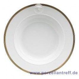 Rosenthal Versace Ikarus Médaillon Méandre d´Or Soup Plate 22 cm