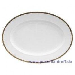 Rosenthal Versace Ikarus Médaillon Méandre d´Or Platter 34 cm