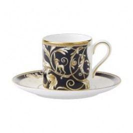 Wedgwood Cornucopia Mocha Cup Saucer Bond 12 cm